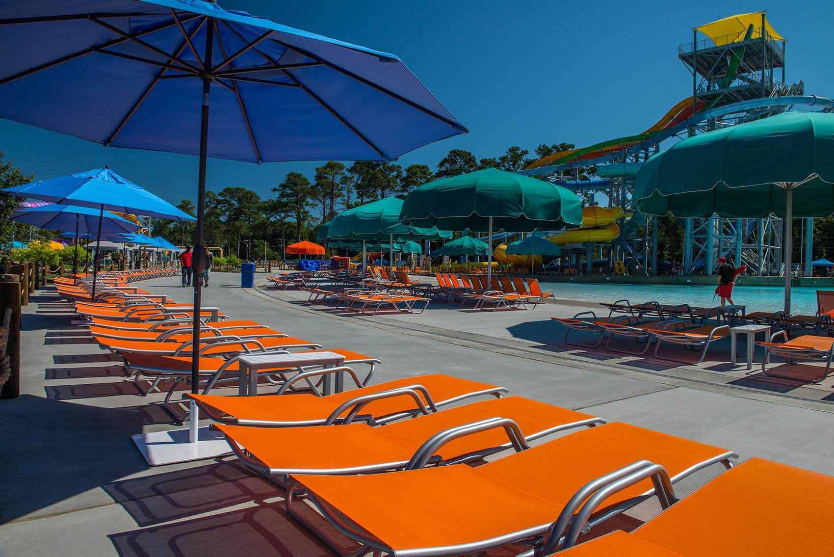 mobilier piscine publique professionnel
