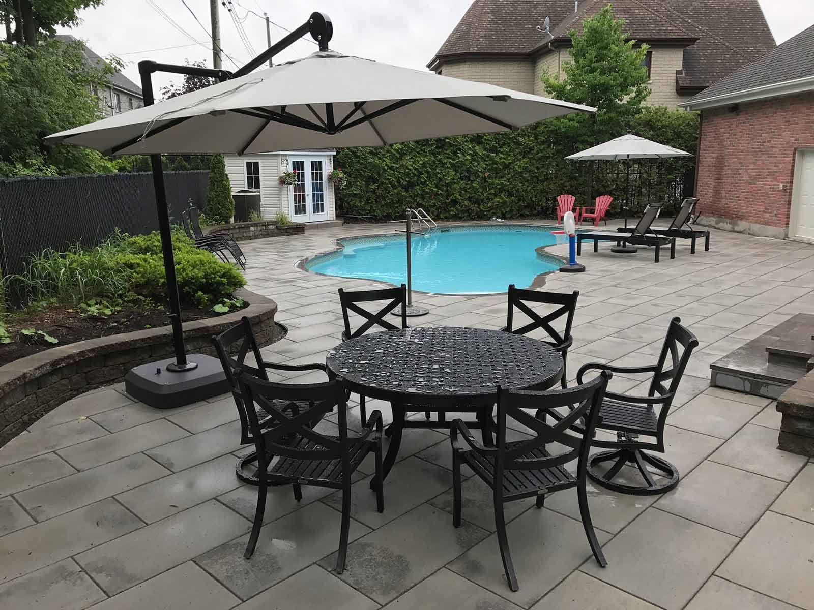 parasol pour terrasse