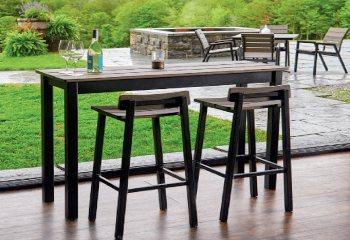 table and barstool | JML inc.
